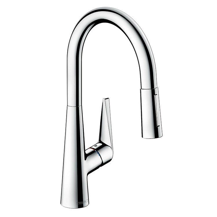 Kitchen Design Tunbridge Wells: Hansgrohe 72813001 Talis S Single Handle High Arc Pull