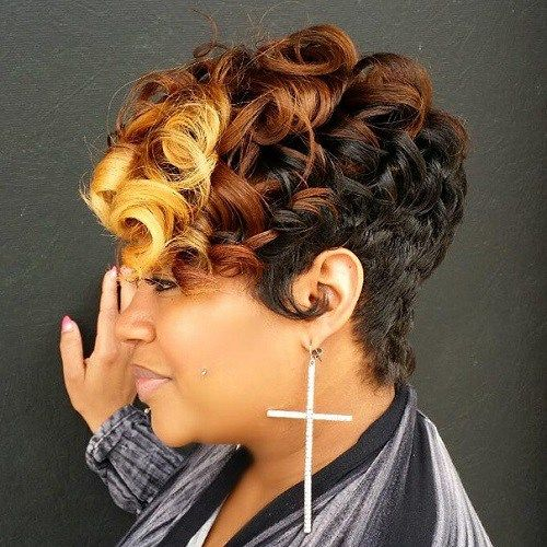60 Great Short Hairstyles For Black Women In 2019 Hair Cute