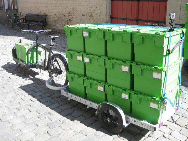 Cargo Bikes Remorque Pour Velo Velo Cargo Remorque Velo