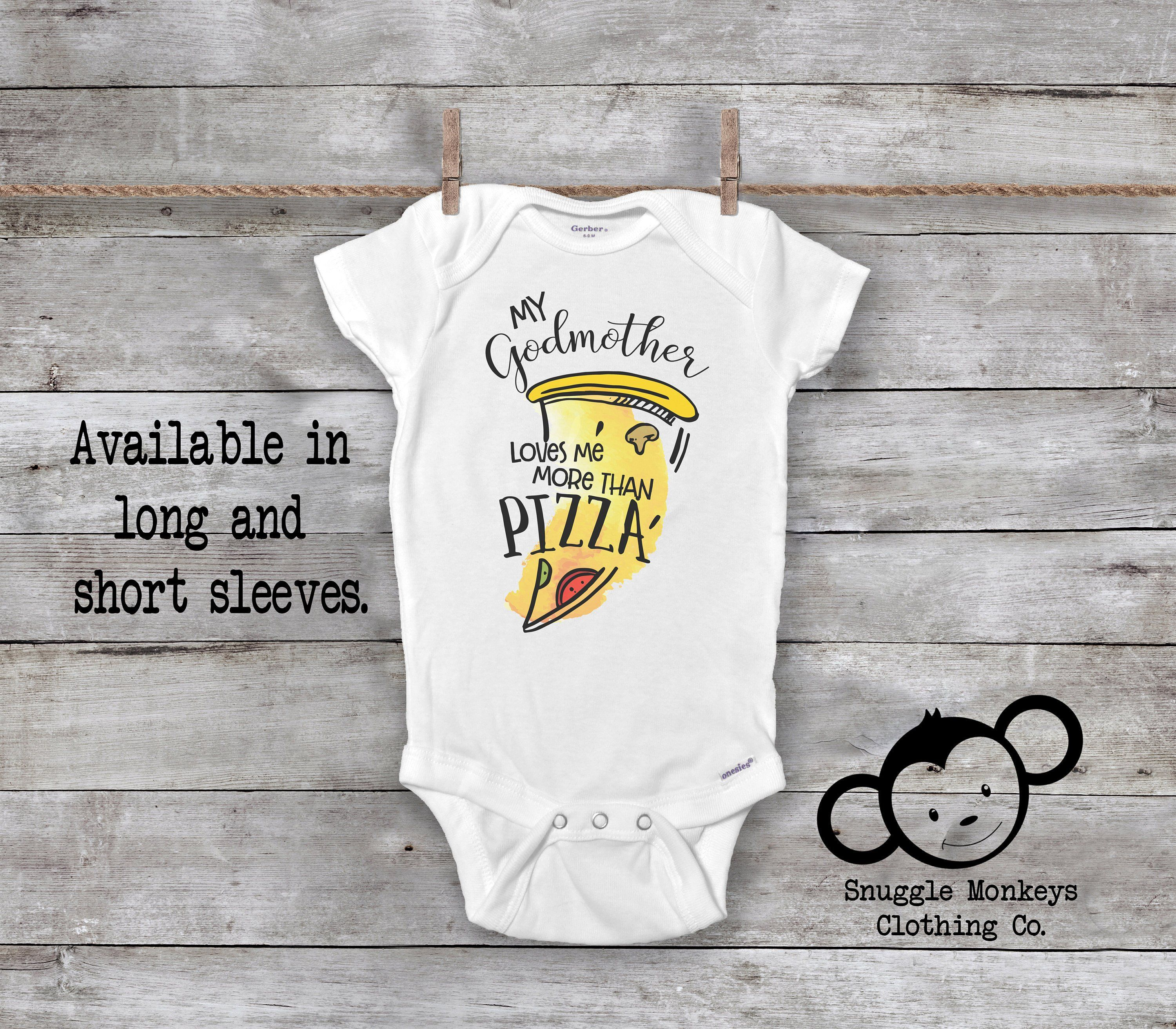 My Godmother is better than.. Funny New Baby Grow Bodysuit Vest Top Unisex Gift