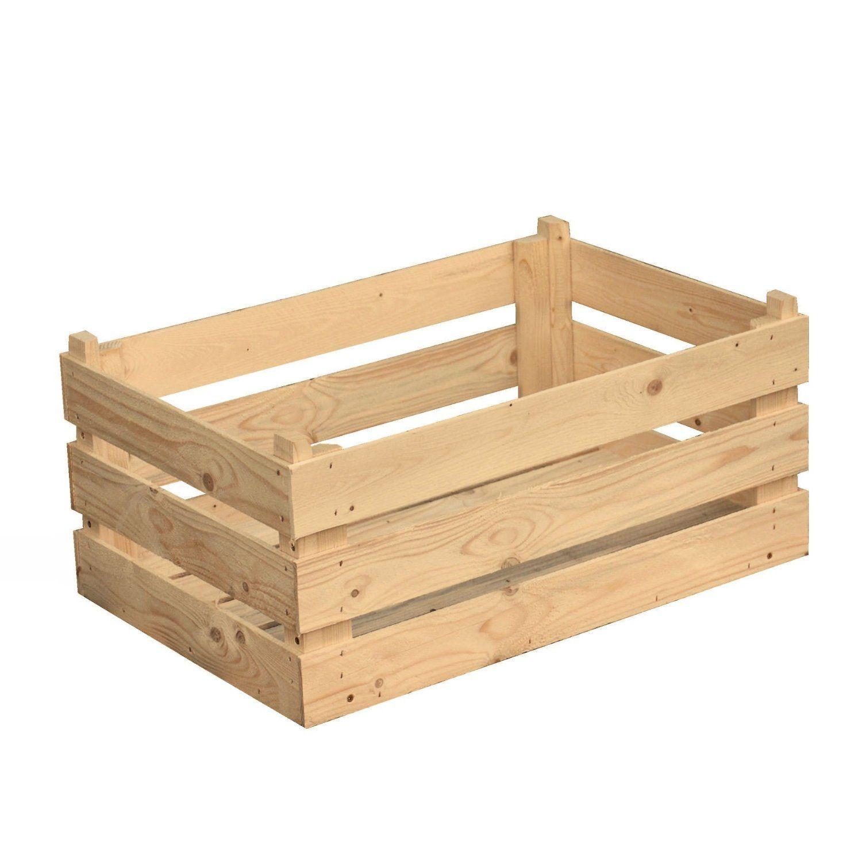 Obstkiste Holz Box Gemuse Holzkiste Obststiege Kiste 60x40x25 Cm Amazon De Kuche Haushalt Cajas De Madera Muebles Cajones De Madera Cajas Ikea