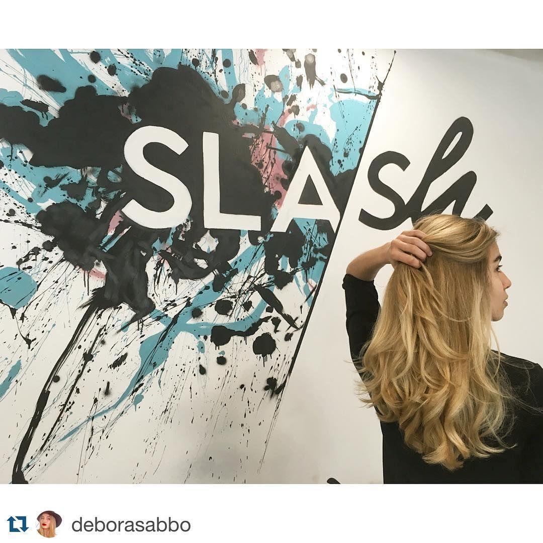 #Repost @deborasabbo with @repostapp. ・・・ Estou mega fã do tratamento Olaplex, faz toda a diferença para a saúde do meu cabelo que está sempre a sofrer agressões principalmente com ferramentas de calor!  Obrigada Slash! #olaplex #olaplexportugal #slash