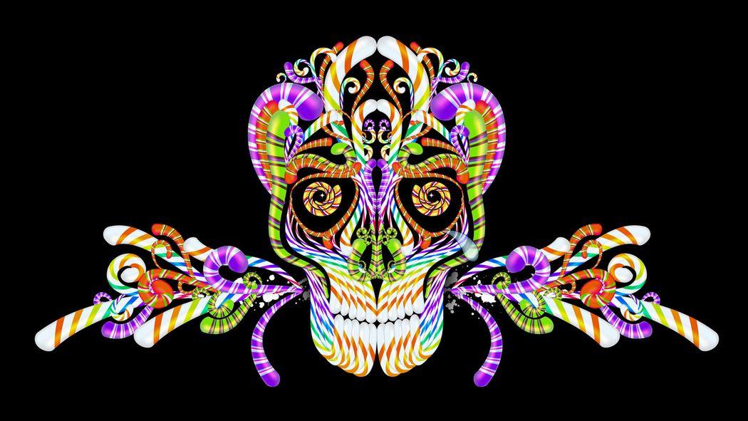 Skull Candy Skull Wallpaper Sugar Skull Wallpaper Skull Art
