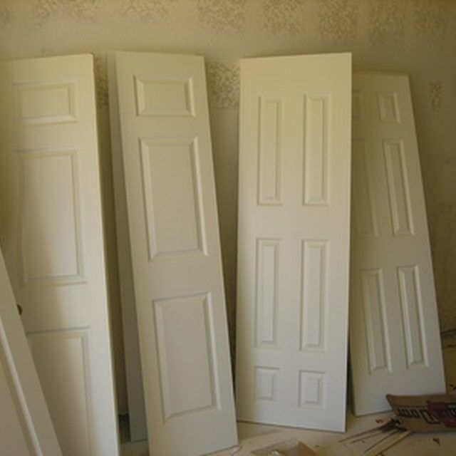 How To Build A Panel Room Divider Hunker Room Divider Doors Diy Room Divider Panel Room Divider