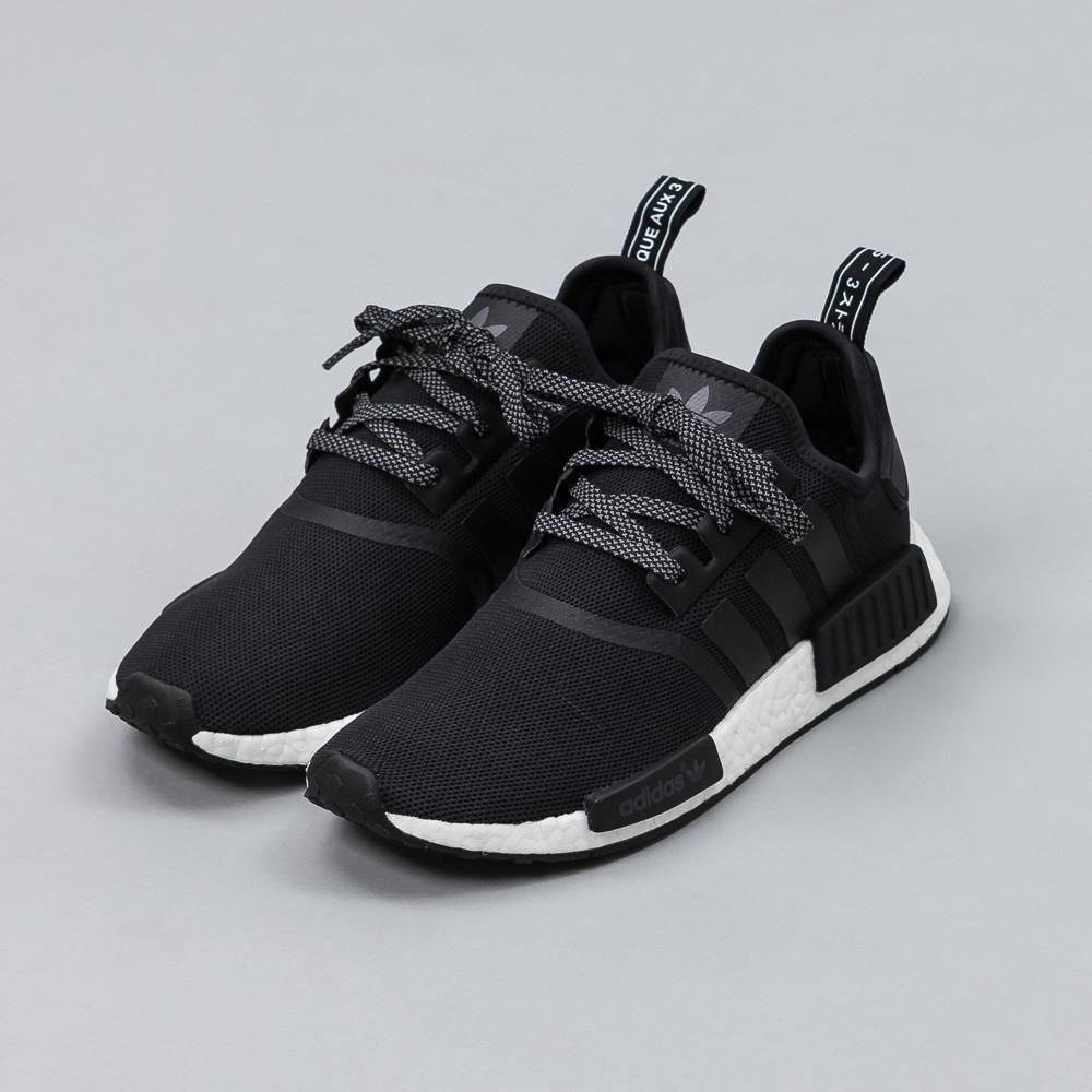 Adidas NMD R1 W BlackWhite Grey BY3035 Women's Size 10