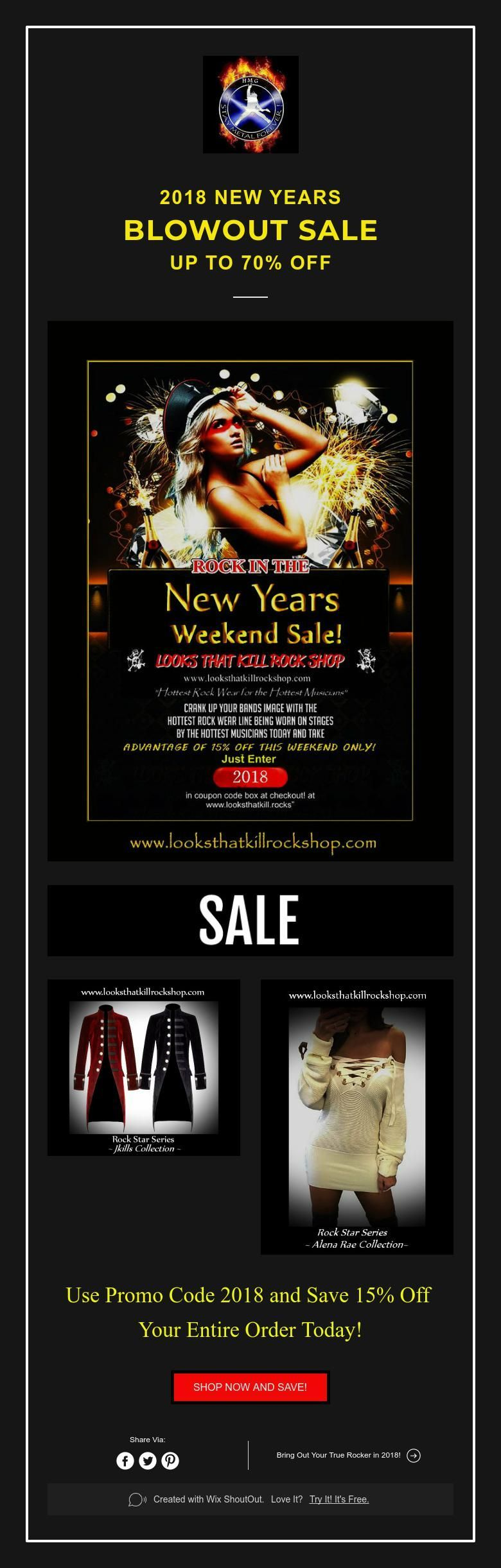 2018 NEW YEARs BLOWOUT SALE up to 70 off Newyear, Promo