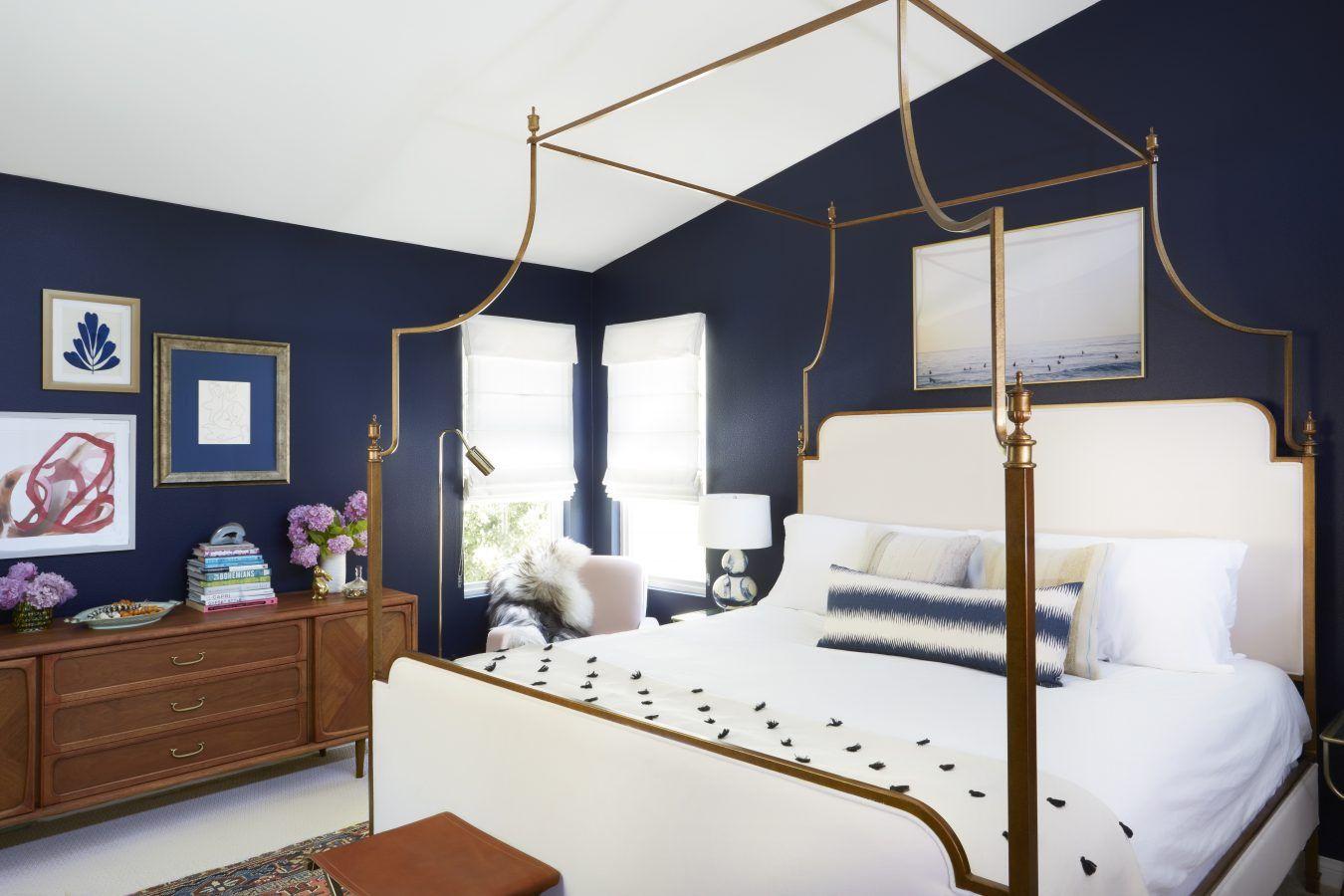 Midcentury Modern Bohemian Master Bedroom Decorating Ideas