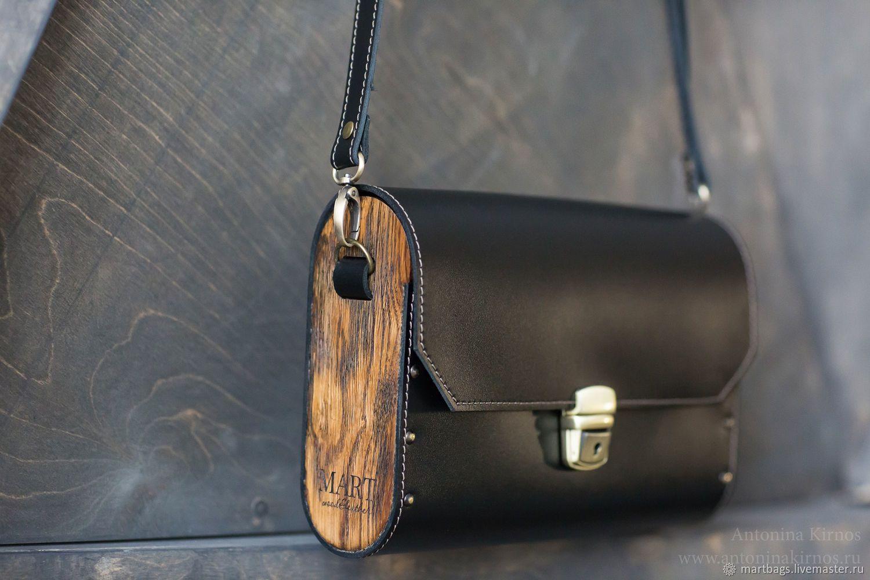 99de1917852f черная сумка из кожи и дерева клатч деревянный кожаный черный мужской  женский купить на заказ дизайнерская