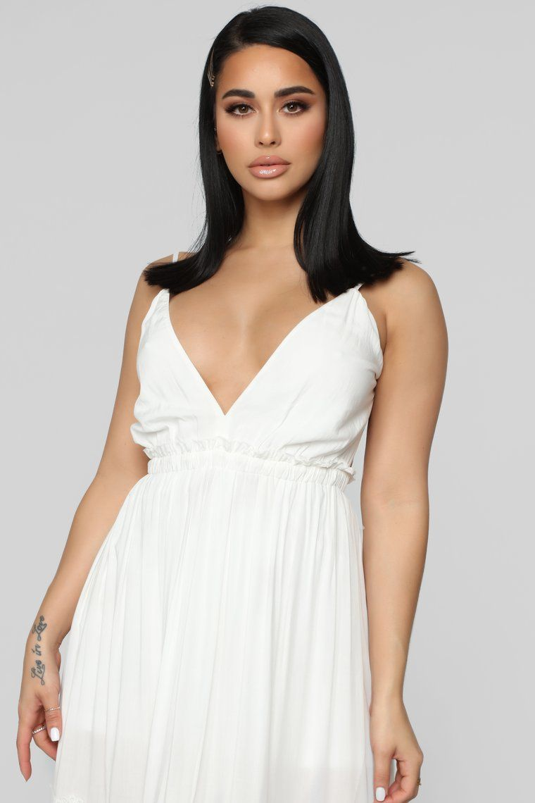 f39e66aca83 Fashion Nova Maxi White Dress - Gomes Weine AG