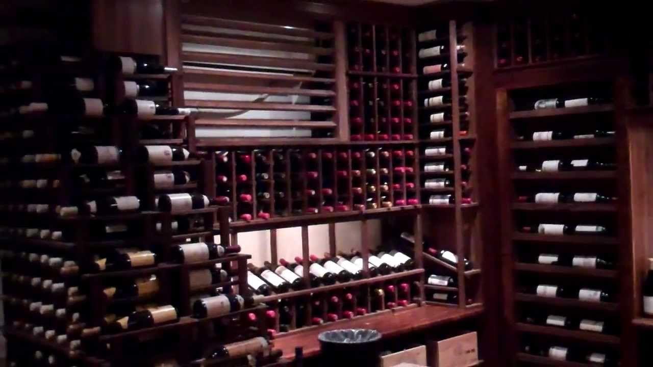 Custom Underground Backyard Wine Cellar With Hidden Room