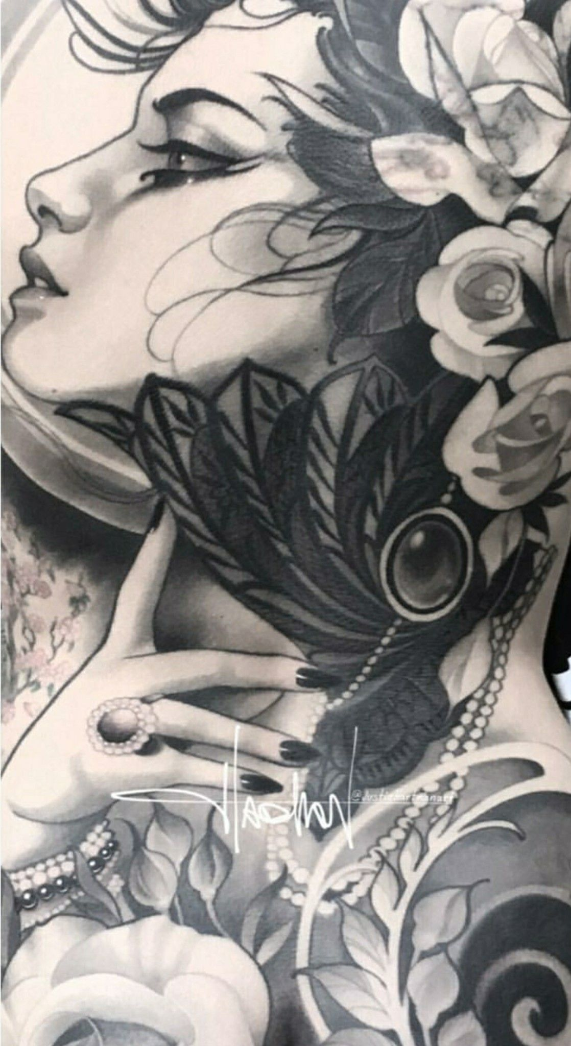 59ebbb15a Neo Traditional Tattoo, Chicano Art, Ink Art, Female Art, Character Art,