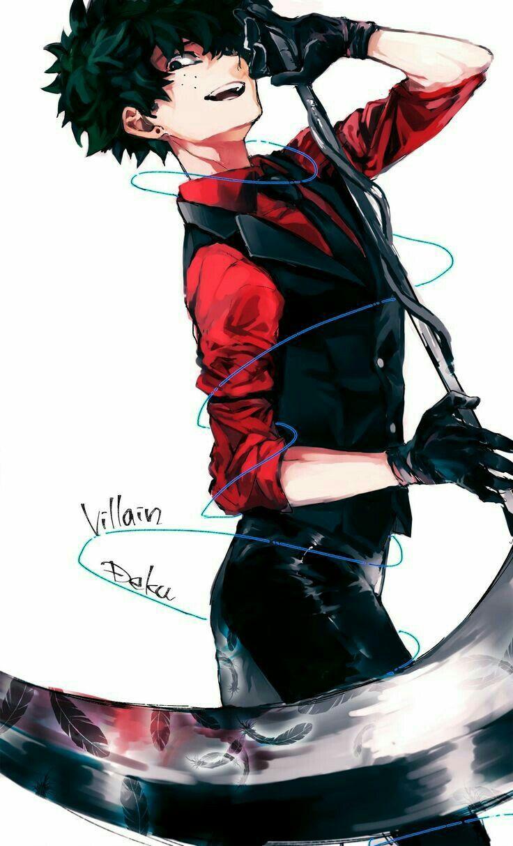 Boku No Hero Academia Izuku Midoriya Villain Izuku My Hero Academia Episodes Hero Villain Deku