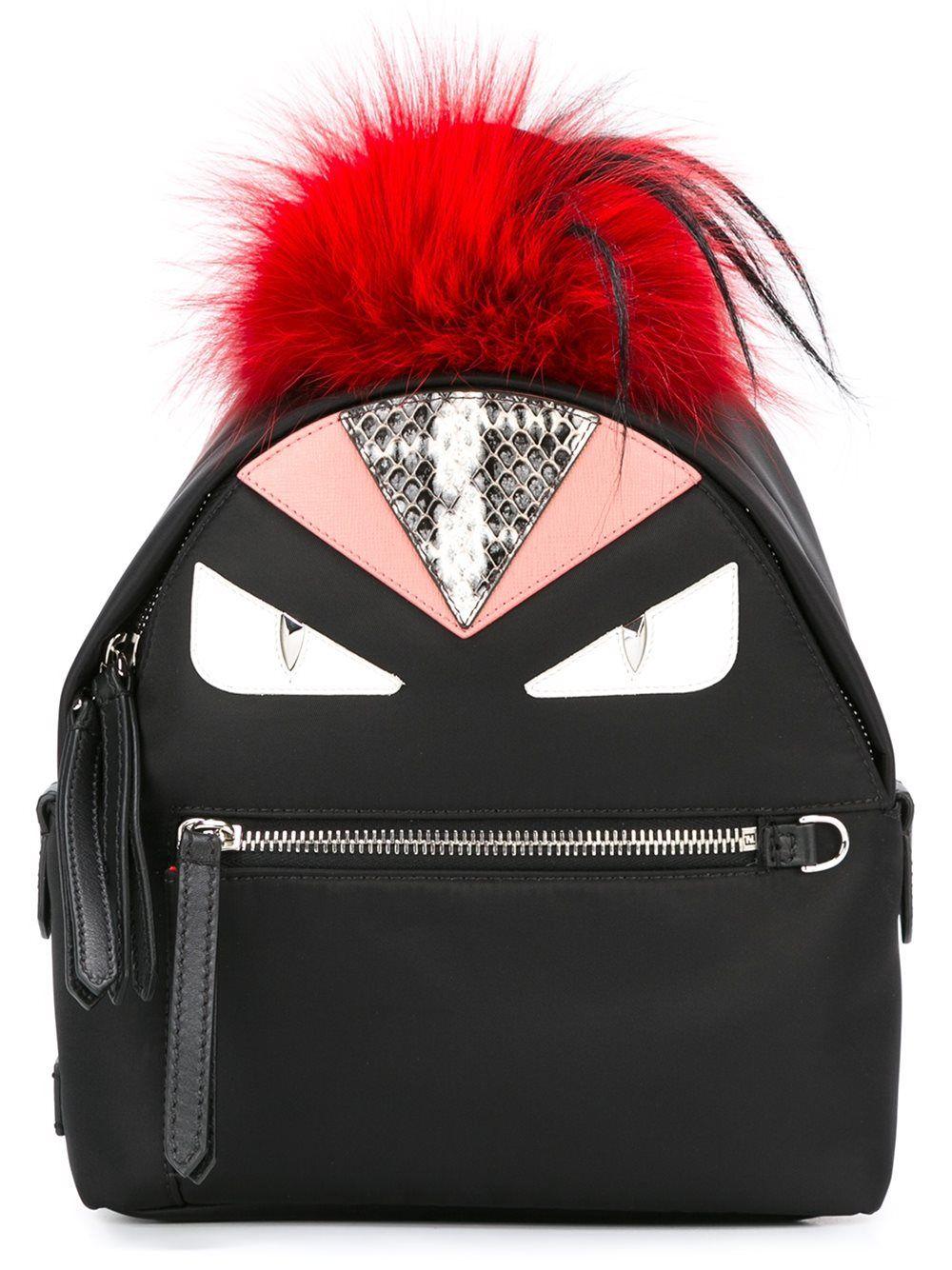 99e082561b3 Fendi mini sac à dos Bag Bugs Femme Sacs