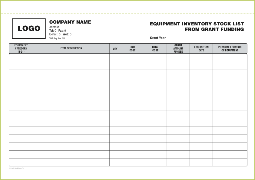 Stock List Template from i.pinimg.com