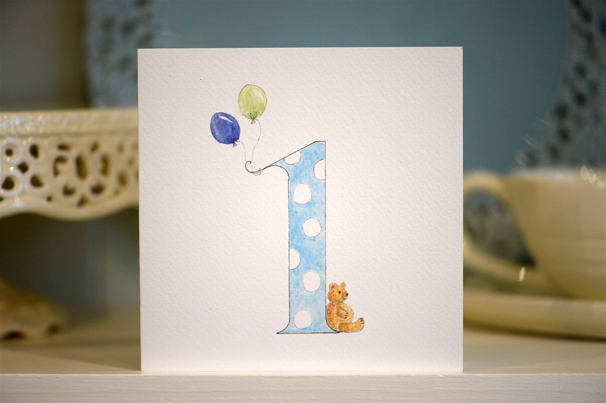 Hand drawn 30st birthday card   Birthday card drawing, 30st birthday ...