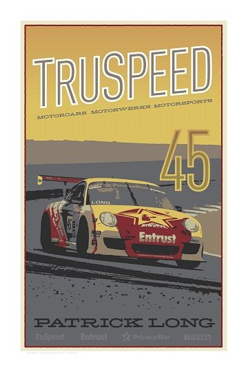 Our Limited Edition Motorsports Poster.