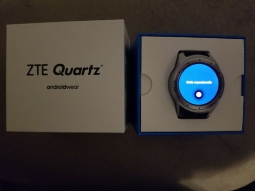 T Mobili ~ Zte quartz androidwear smart watch t mobile with extra watch bands