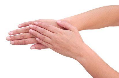 Automasaje de pies y manos