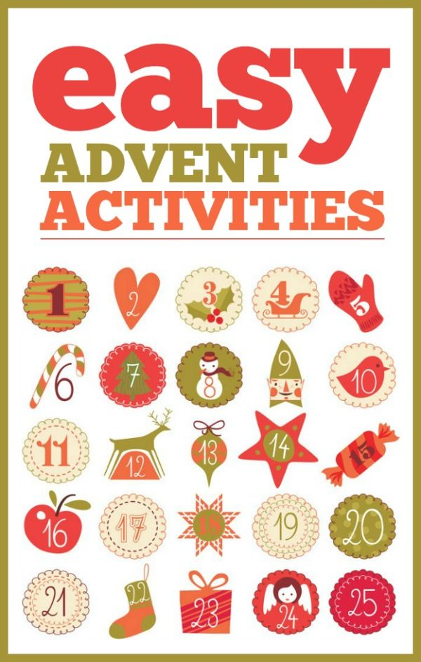 Easy Advent Activities | Winter, Deutsch und Weihnachten