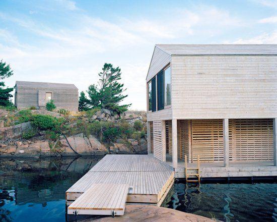 Floating House | MOS Architects · Lake HuronFloating ... Photo
