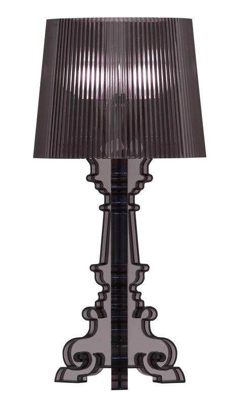 salon s table lamp - black transluc $110  Black table