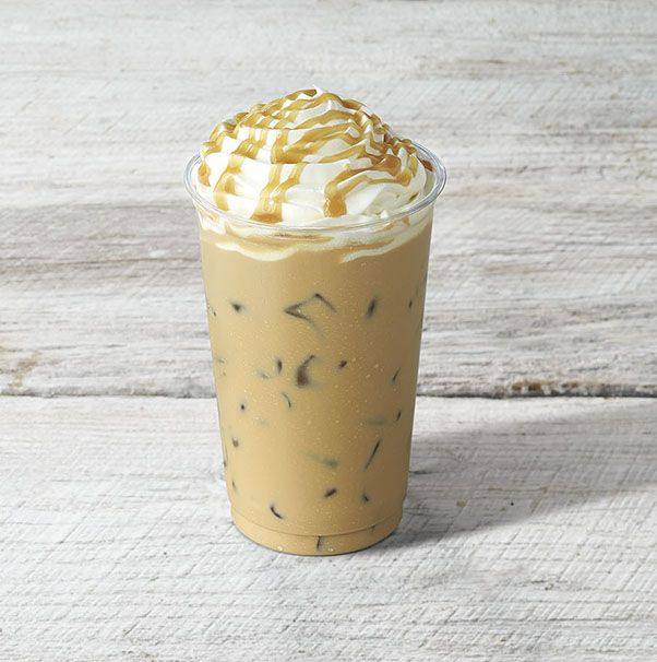 Panera Iced Caramel Latte