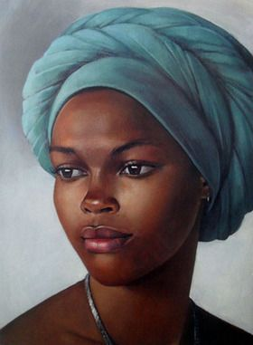 By Samere Tansley #africanbeauty