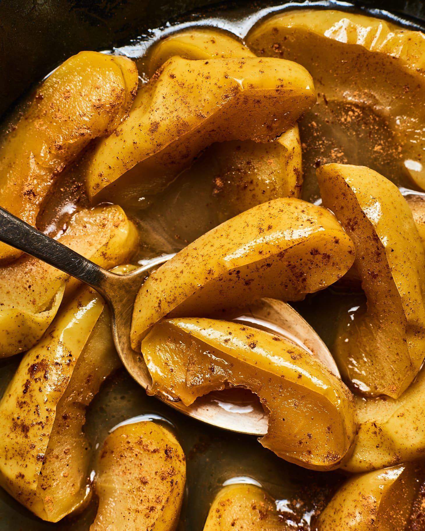 BetterThanCrackerBarrel Skillet Fried Apples Recipe