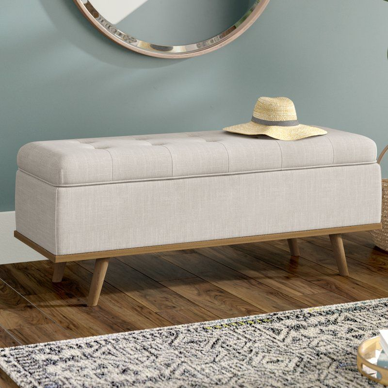 Terrific Valerio Upholstered Storage Bench Apartment Upholstered Andrewgaddart Wooden Chair Designs For Living Room Andrewgaddartcom