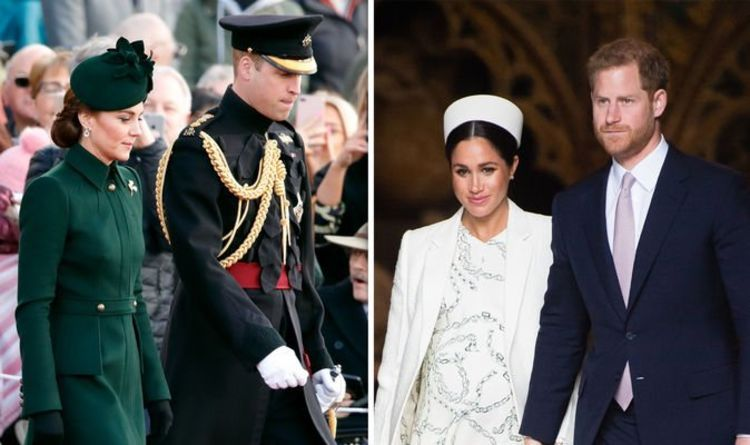 Royal Split How Palace Staff Snubbed Meghan And Harry To Stay With Kate And William Kate Middleton Prince William Duke Duchess Meghan Markle News