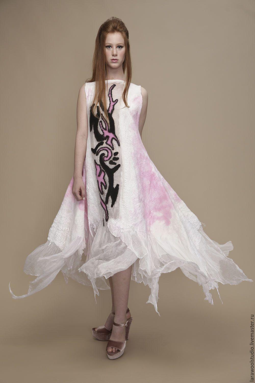 8ac08ff8885 Платья ручной работы. Ярмарка Мастеров - ручная работа. Купить Летнее платье  без рукавов белое