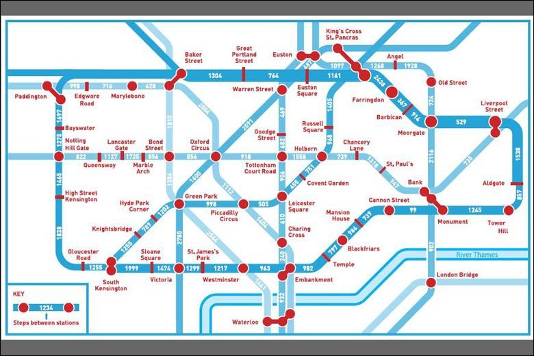 Walking Tube Map Map Design Pinterest London underground