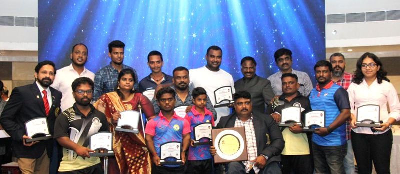Chennai Para Sports Association – Honor Mr Ranjith Kumar, Dayan Chand Lifetime Awardee