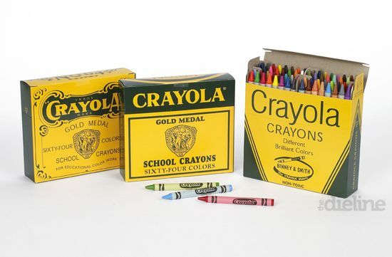 The Evolution Of Crayola Crayons Crayon Box Color Crayons Branding