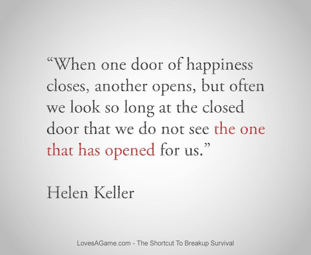 Quotes About Doors Once That Door Closes Turn Around And Look Aheadkeep Looking