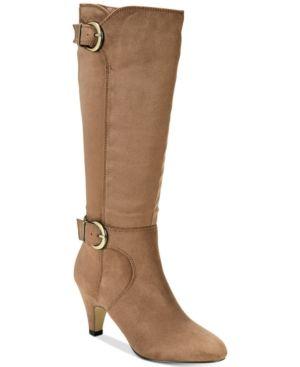 cf4bb43dbe3 Bella Vita Toni Ii Wide-Calf Boots - Tan Beige 7.5WW Wide Calf
