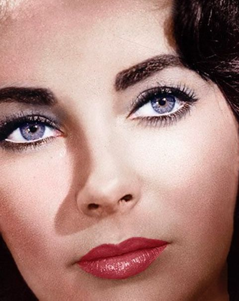 Perfect Elizabeth Taylor Eyes Makeup Eyelashes Eye Color Elizabeth Taylor Eyes Elizabeth Taylor Violet Eyes