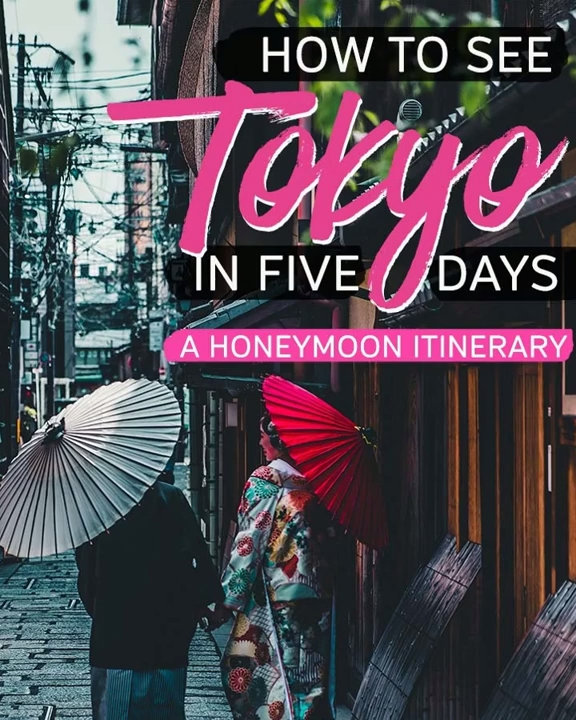 [Japan Travel] Traveling to Japan for honeymoon? Tokyo is a great destination for couples who like city escapes. No worries if you're not sure what to do in Tokyo. This 5-Day Tokyo itinerary providing all the details you need to know when visit Japan - from Tokyo must see, the best Tokyo restaurants (including those have michelin stars!) to romantic Tokyo hotels. Start planning your Tokyo vacation now! #asiatravel #tokyothingstodo #tokyoitinerary
