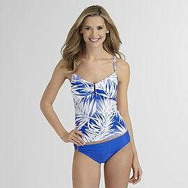 00580fccc208f Jaclyn Smith Womens Tankini Top - Palm Leaf at Kmart.com | Our ...