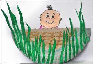 Baby Moses in a Basket Paper Plate Craft from .daniellesplace.com & Baby Moses in a Basket Paper Plate Craft from www.daniellesplace.com ...