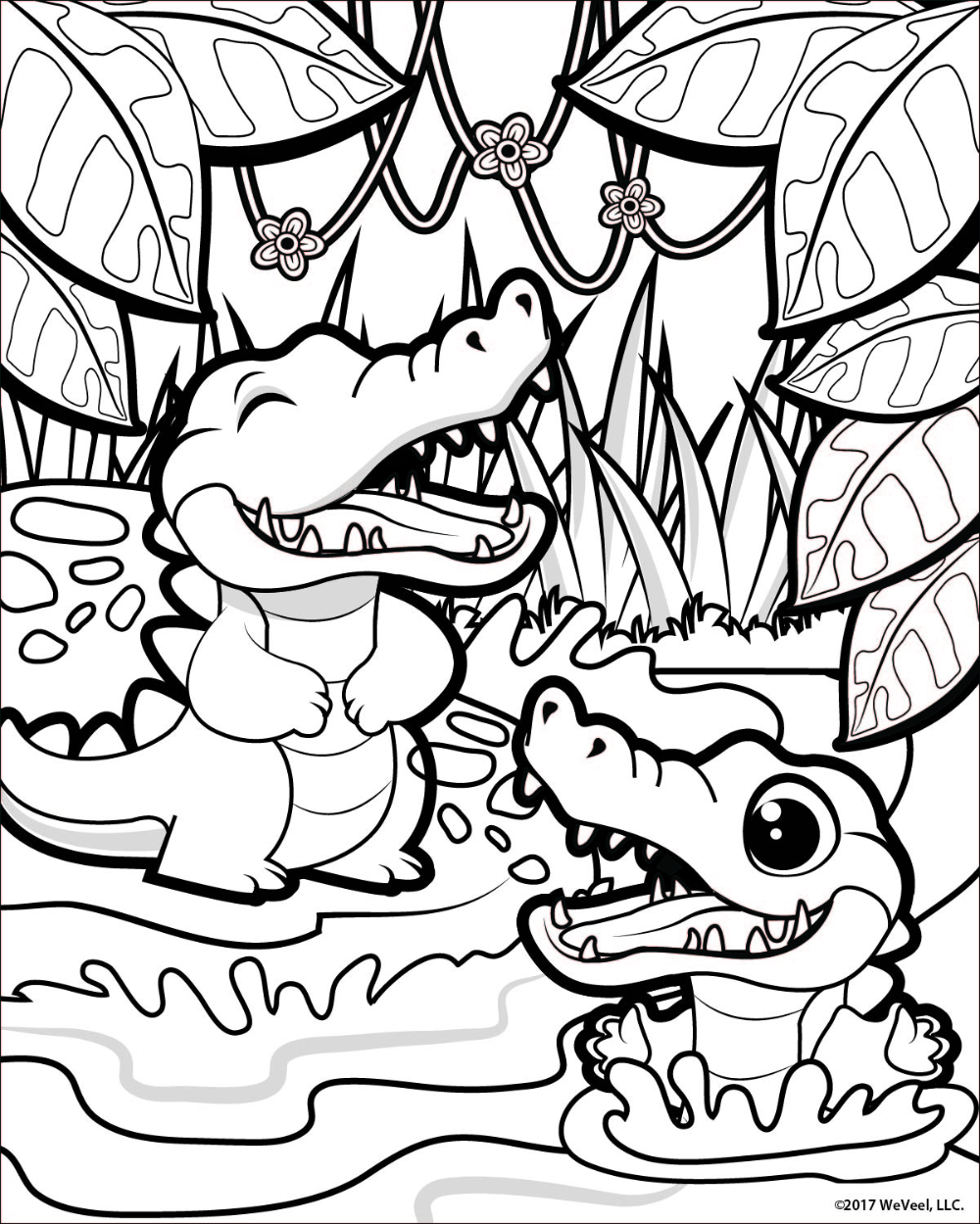 Coloring Pages Jungle In 2020 Jungle Coloring Pages Zoo Coloring Pages Cute Coloring Pages [ 1249 x 1000 Pixel ]