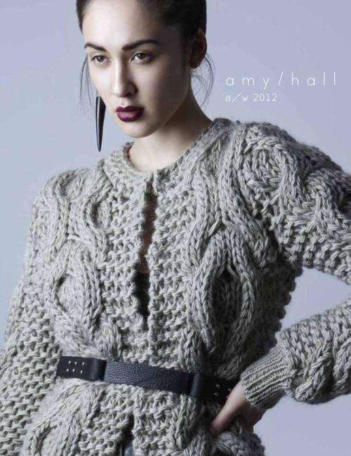 Amy Hall Aw 2012 Knit Inspiration Pinterest Amy Knitting