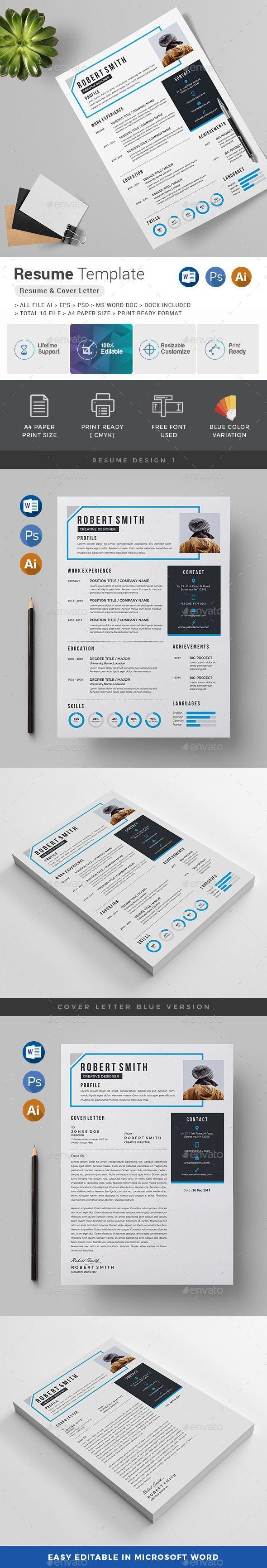 Resume / CV Best resume template, Resume cv, Resume