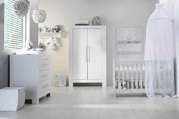 Chambre bébé grise et blanche | Deco chambre d enfants | Pinterest ...