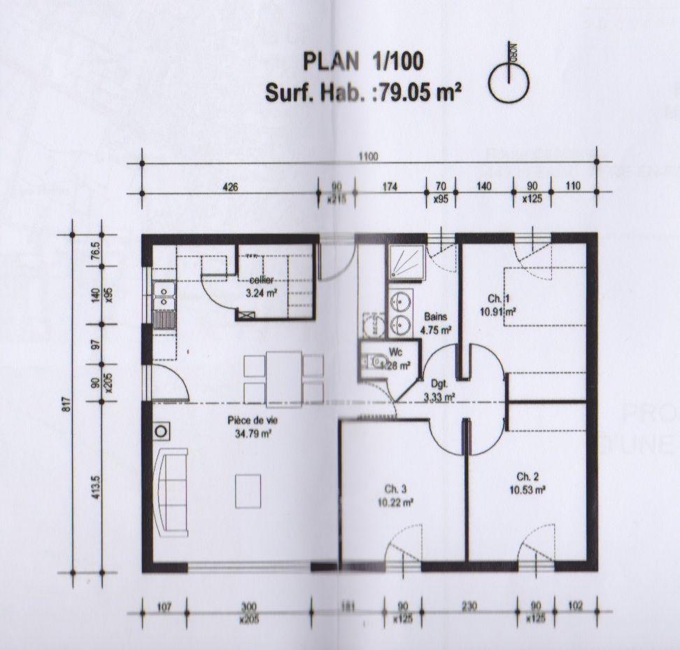 Forum Construire Plan Maison 3 Chambres Plan Petite Maison Plan Maison 120m2