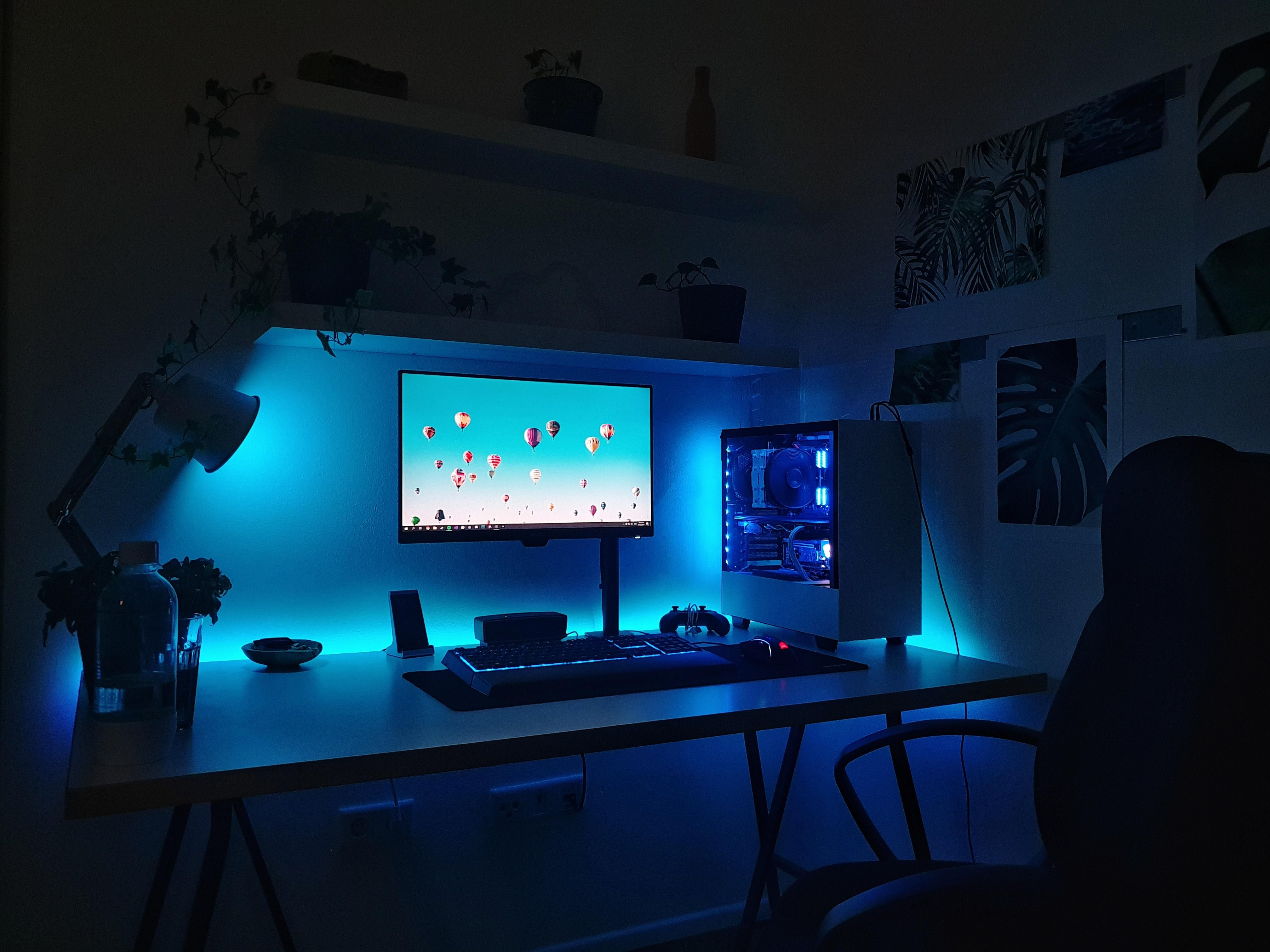 My current simple setup. Getting a second monitor for