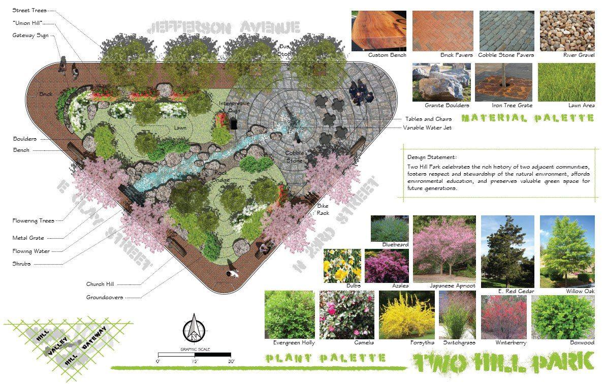 two hill pocket park | Landscape by Design | Pinterest | Pocket ...