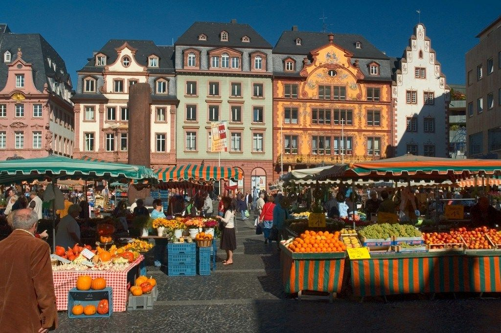 Marktplatz Mainz Germany To Learn More About Mainz - Deutsche Restaurants Mainz