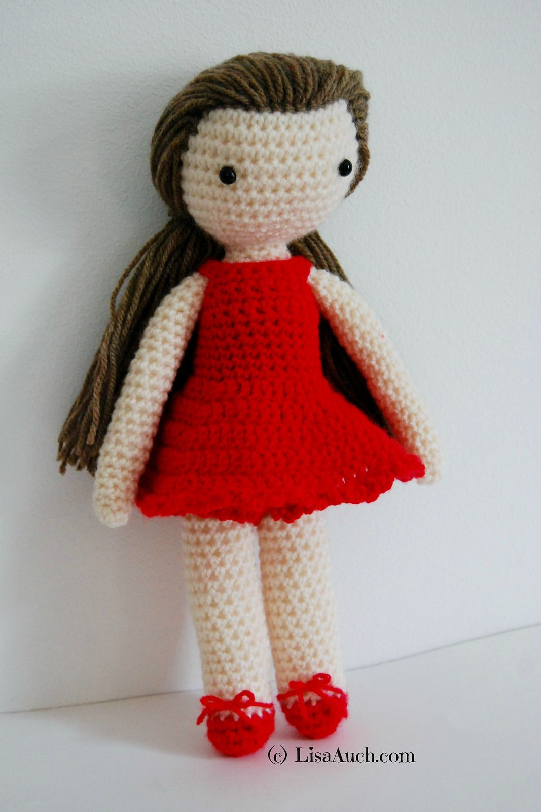 Basic Doll Body TUTORIAL // Amigurumi doll pattern - YouTube | 1600x1067