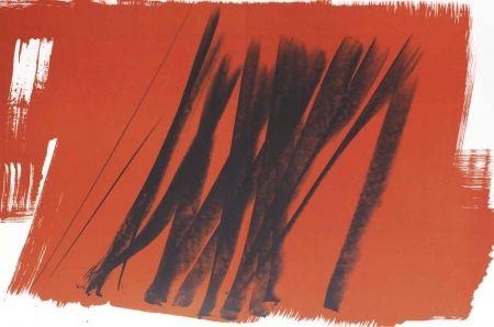 Lithograph - Hans Hartung - Farandole 15